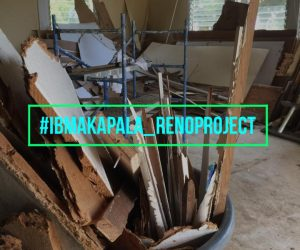 IBMakapala Renovation Project is UNDERWAY!