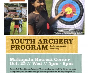 Youth Archery Program
