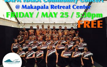 FREE – Kapa Haka Community Concert