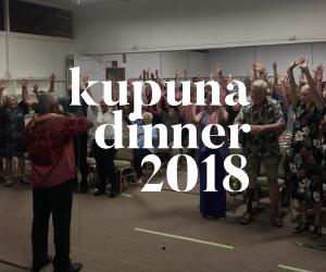 Kupuna Dinner 2018