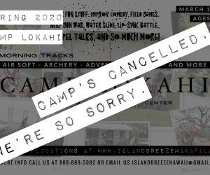 2020 Spring Camp – Cancelled