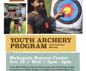Youth Archery Program