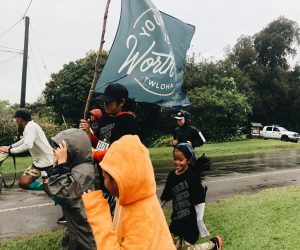 On Saturday, In the Wind and Rain, We Ran